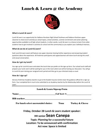 Sign in sheet for a lunch and learn - fngk.hurjh.loan