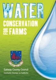 Water Conservation for Farms - Galway County Council