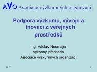Asociace výzkumných organizací - 7. RP