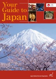 Your Guide to - Japan National Tourist Organization