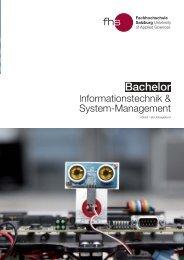 Info-Broschüre - Fachhochschule Salzburg