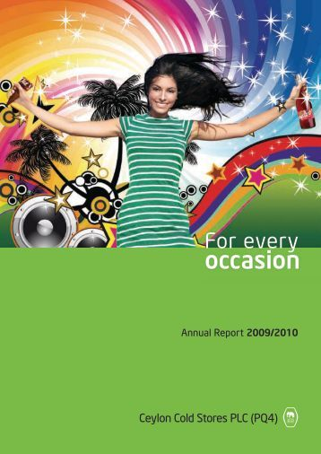 Annual Report 2009/2010 - Elephant House