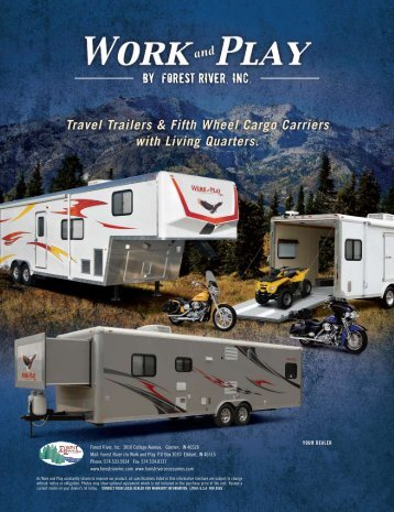 Forest River Work and Play Toyhaulers - 2010 Catalog - BillaVista.com