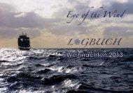 einen Blick in die aktuelle Logbuch-Ausgabe. - Eye of the Wind