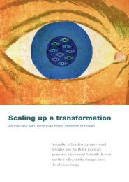 Scaling up a transformation - McKinsey & Company