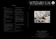 scarica il Notiziario S.I.M. - Società Italiana di Malacologia
