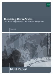 Theorising African States - NUPI