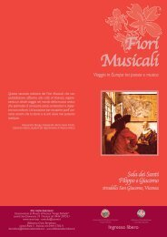 Fiori Musicali - Biblioteca Civica Bertoliana