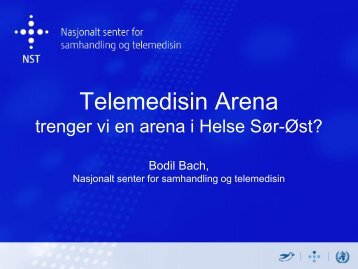 Bodil Bach - Nasjonalt senter for telemedisin