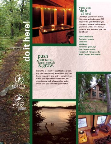 Falcon Trails Resort Brochure (PDF)