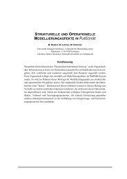 strukturelle und operationelle modellierungaspekte ... - Datenbanken