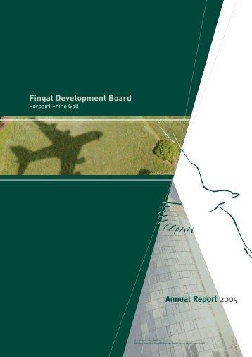 8650 FDB Annual Report 2005 - Fingal Development Board