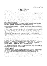 Mad- og kostpolitik for SFO - Skolen på la Cours Vej