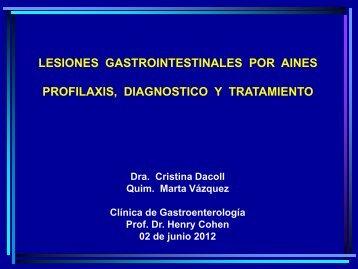 AINES - Clínica de Gastroenterología.