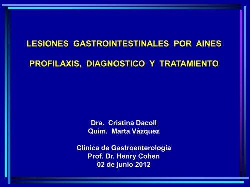 AINE y medicamentos para la hipertensión