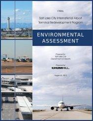 Salt Lake City International Airport Terminal Redevelopment ...