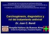 Carcinogénesis, diagnóstico y rol del tratamiento antiviral