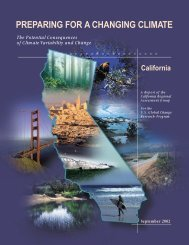 California Regional Assessment Group Report to the US Global ...