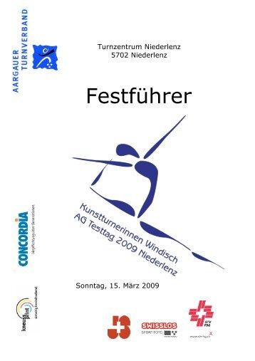 Festführer Testtag 2009 - Kutu - Windisch