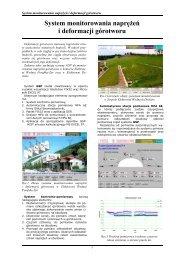 System monitorowania naprężeń i deformacji górotworu - AMEplus