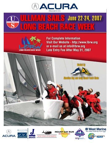 ULLMAN SAILS LONG BEACH RACE WEEK