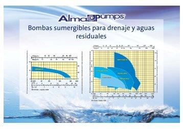 Bombas sumergibles para drenaje y aguas ... - bomba sultana