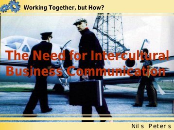 The Need for Intercultural Business Communication - nils