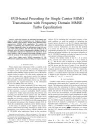SVD-based Precoding for Single Carrier MIMO Transmission with ...
