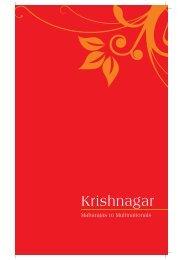 Krishnagar History Brochure - shristihousing.com