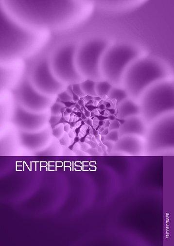 Annuaire Genopole - Les entreprises 2012