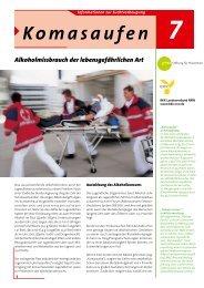 Komasaufen - BKK-Landesverband NORDWEST