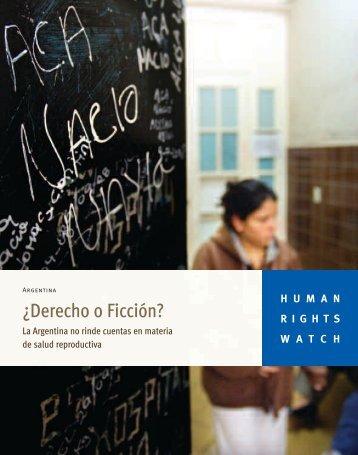 ¿Derecho o Ficción? - Despenalizacion.org.ar