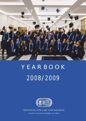 YEARBOOK - Institute For Law And Finance