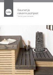 Saunat ja rakennusohjeet - Cello