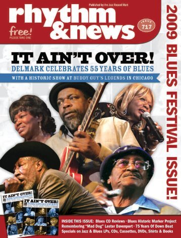 INSIDE THIS ISSUE: Blues CD Reviews • Blues ... - Delmark Records