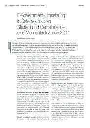 eGovReview 9_012012_E-Govumsetzung in Städten und Gemeinden