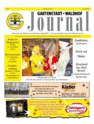 Gartenstadt Waldhof Journal Dezember 2012 - Bürgerverein ...