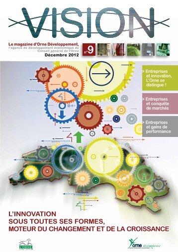 l'innovation sous toutes ses formes, moteur du changement et de la ...
