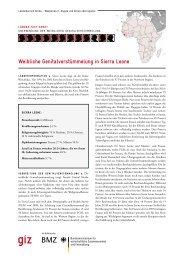 Weibliche Genitalverstümmelung in Sierra Leone - Deutsche ...
