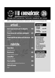 N. 26 del 28 giugno 2003 458 il consulente 1081 - Ancl
