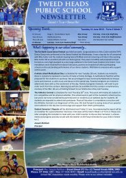 Term 2 Week 7 11.06.13 - Tweed Heads Public School