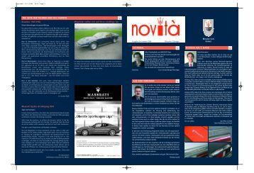 Novità 8 - Maserati Club Schweiz