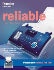 Plain Paper Laser Fax - Continental Imaging Products