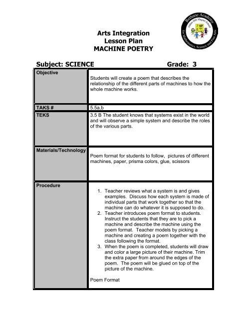 integration paper format