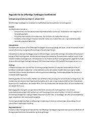 Regulativ for De Offentlige Tandlægers konfliktfond