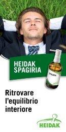 ritrovare l'equilibrio interiore - Heidak AG