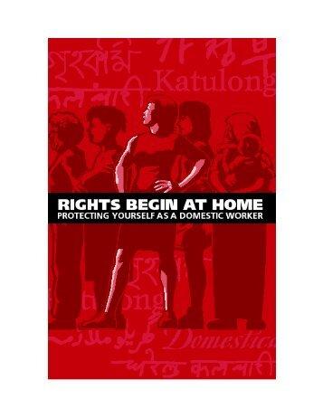 Rights Begin at Home