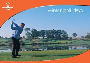 TT Winter Golf 08.indd - The Club Company