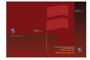 Profesorado de Educación Especial - Repositorio Institucional del ...