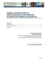manual usuario para la configuración en diferentes clientes de ...